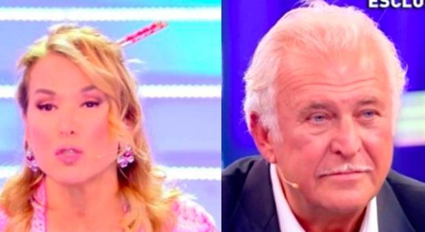 Domenica Live, Signoretti contro Antonella Mosetti: