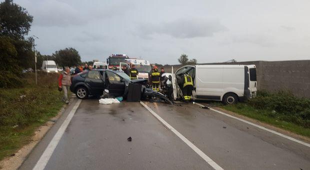 Un incidente provoca tre morti a Saronno
